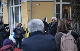 I 1942 ble jødiske Ruth Maier deportert fra Oslo til Auschwitz. I går åpnet dikteren Jan Erik Vold Ruth Maiers plass i bydel St Hanshaugen