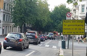 Byrådet snur: Opphever rushtidsstenging av Bygdøy allé og gjenoppretter deler av bussfelt