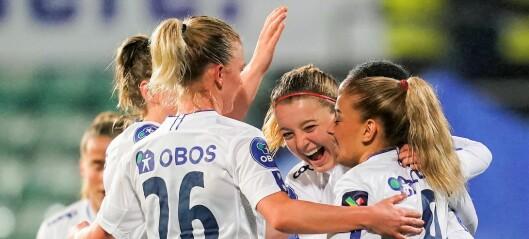 Vålerenga-damene på vei mot sin andre cupfinale på to år. — Gi oss Lillestrøm i finalen, sier de