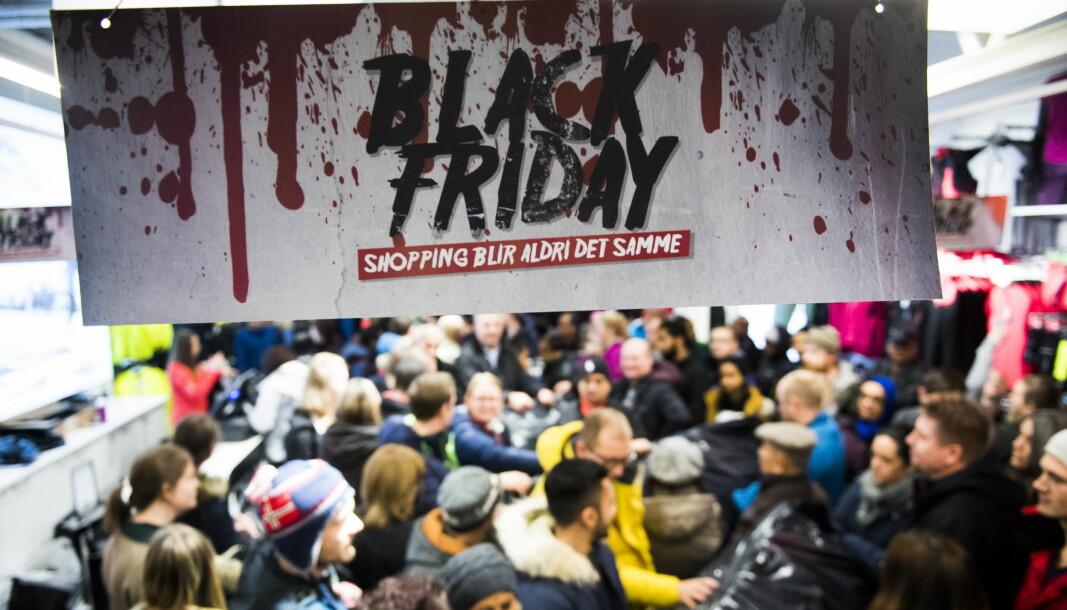 Black Friday vil trolig arrangeres ved flere av hovedstadens shoppingsentre også i år. Til tross for de strengere smittevernstiltakene og den økte smitten.
