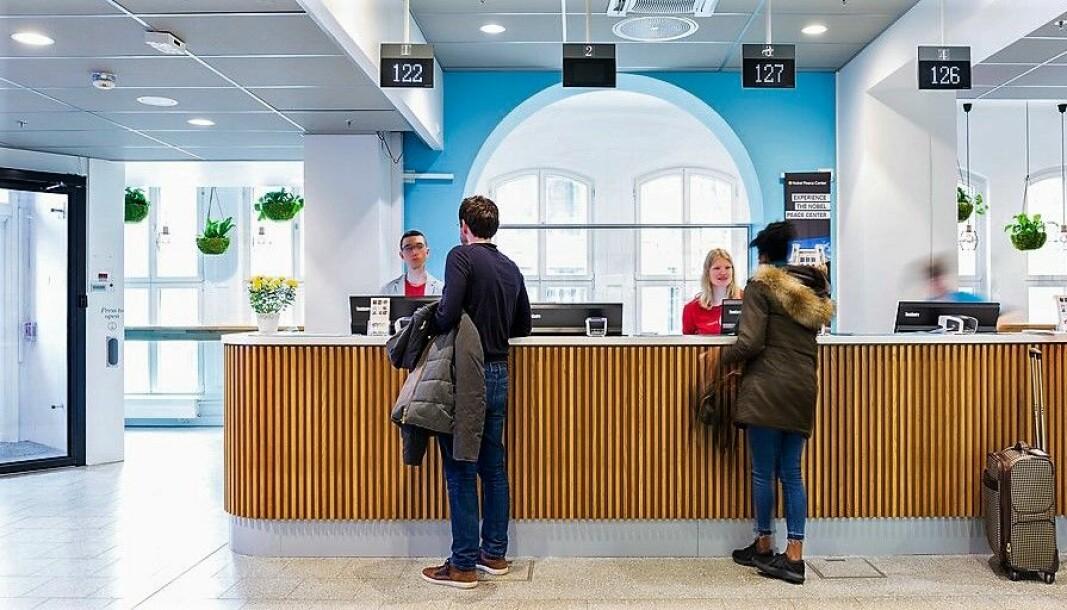 Her ved VisitOSLO sitt Oslo Visitor Centre kommer det tusenvis av turister innom hvert år.