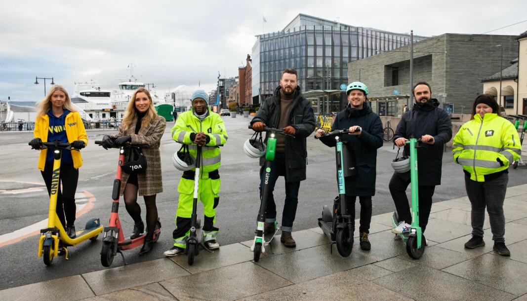 Oslo og flere andre storbyer er ikke fornøyd med regjeringens forslag til elsparkesykkelregler.