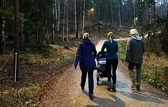 Ny lysløype fra Sognsvann til Korsvoll er åpnet