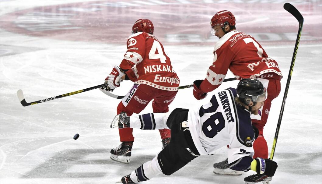 Seann-Michel Sunnqvist og Grüner-gutta gikk på trynet i bortemøtet med Stjernen. Til slutt ble det tap.