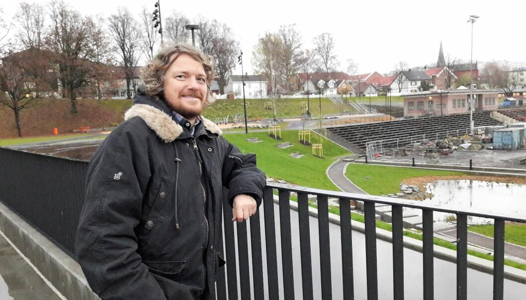 Jan Olav Larssen bor på Kampen, og ser fram til å bruke Jordal park og Hovinbekken.