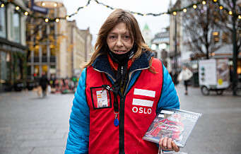 Magasinselgerne i Erlik Oslo setter sin lit til et godt juleboksalg. — Målet er å få feira jul i år også, sier Erlik-selger Janne