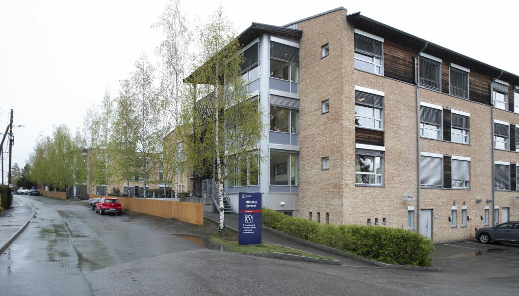 En beboer ved Midtåsenhjemmet i Oslo døde tirsdag.