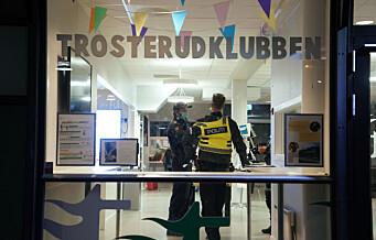 Tenåring knivstukket ved fritidsklubben på Trosterud