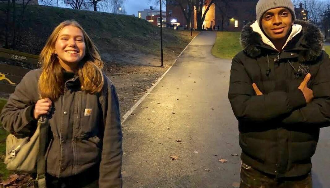 Oda Garnås Paaske går på Fagerborg skole. Sammen med Naif jr. Mohamed, fra Jordal skole, har de laget morsomme og uttrykksfulle informasjonsvideoer om korona for ungdommer.