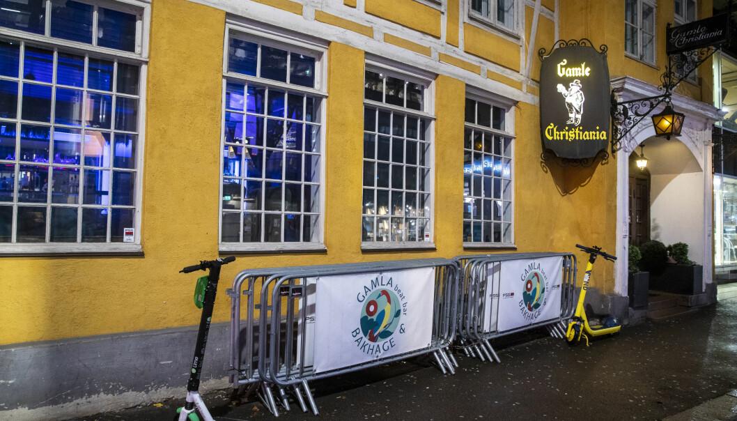 Flere personer som var på Gamle Christiania (Gamla) mandag 9. november, er smittet med covid-19.