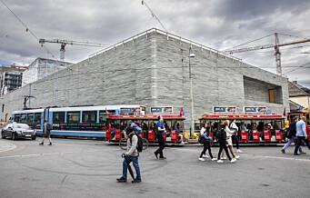Åpningen av det nye Nasjonalmuseet er utsatt til 2022