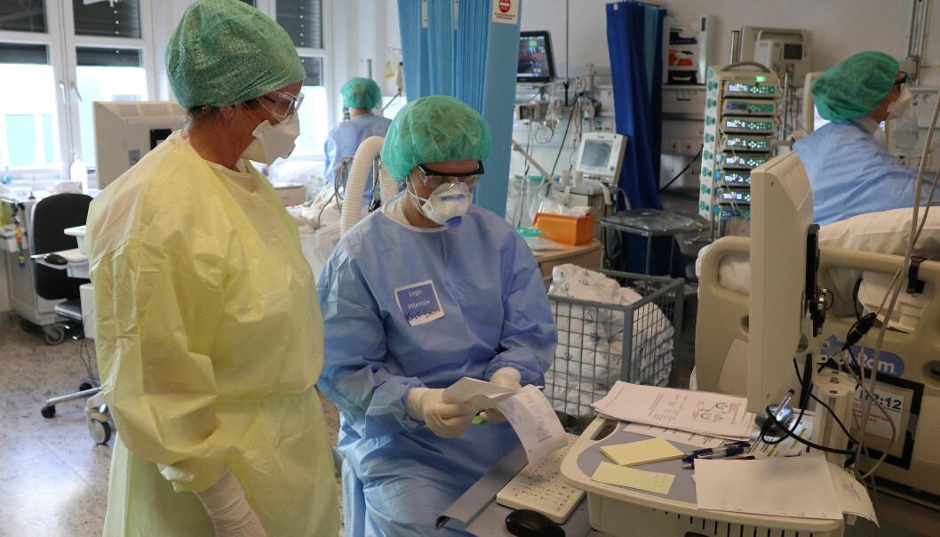 Fem av koronapasientene får behandling med respirator, mens sju er innlagt på intensivavdeling, opplyser OUS.