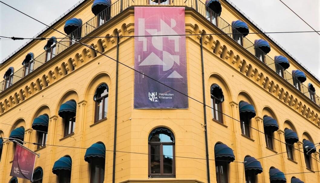 Høyskolen i Kristiania mener den har operert innenfor rammene av gjeldende forskrift, men at rutiner for undervisning nå skal gjennomgås.