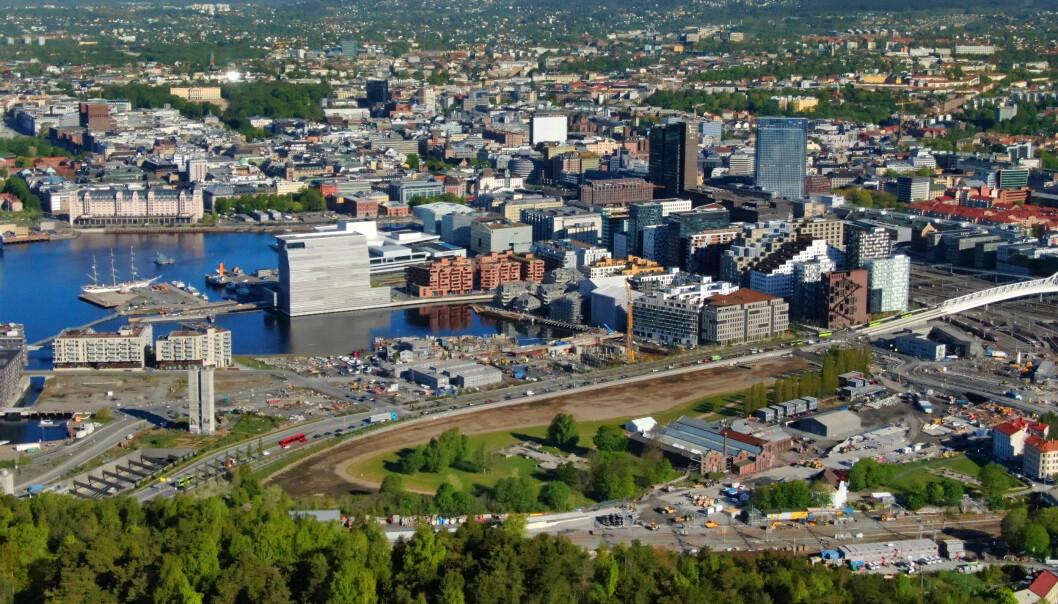 Ransofrene holdt til på fasjonable adresser flere steder i byen. Blant annet i Barcode i Bjørvika.