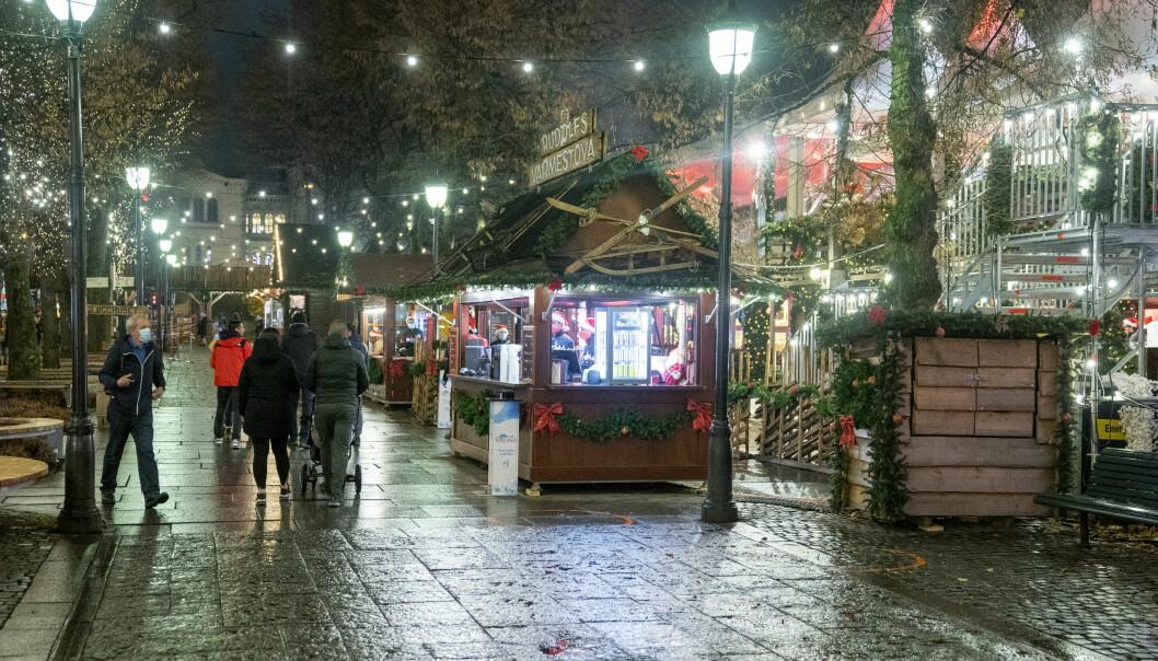 Jul i Vinterland i Spikersuppa er åpent tross strenge smittevernregler og skjenkeforbud i Oslo.