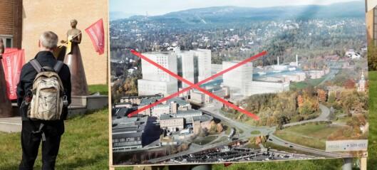 Partiveteraner i Oslo Ap ut mot egen partiledelse: Krever stans av nytt storsykehus på Gaustad