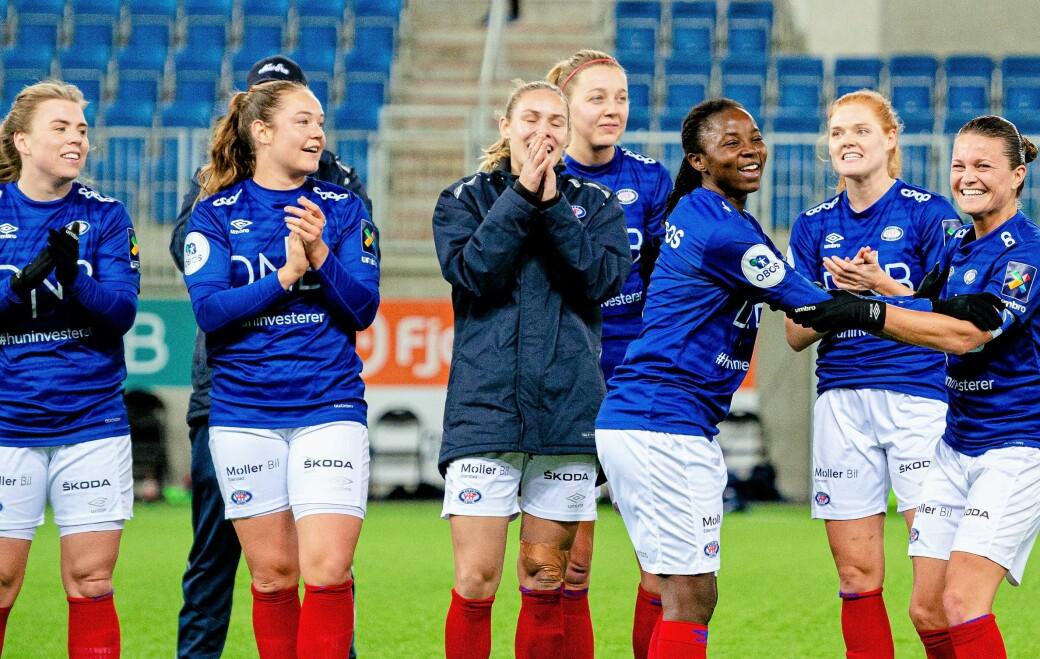 Vålerenga-damene jubler og er klare for sin andre cupfinale på to år etter kalas-seieren mot Avaldsnes søndag kveld.