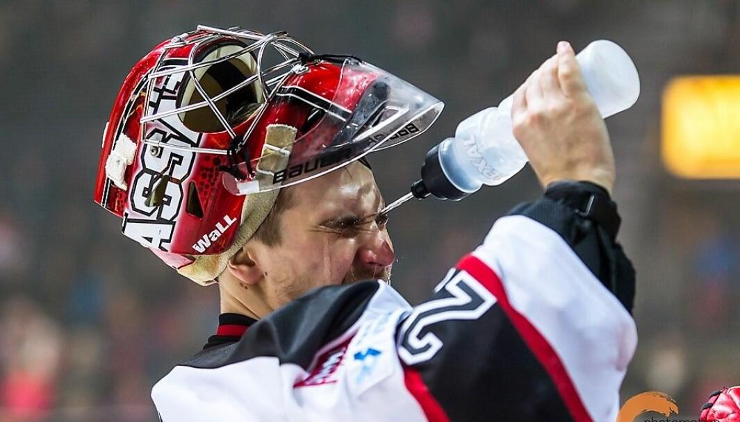 Finske Rasmus Rinne (30) er Grüner hockeys nye målvakt.