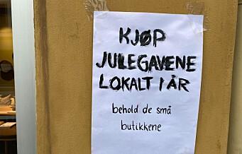 – Kjøp julegavene på Løkka i år