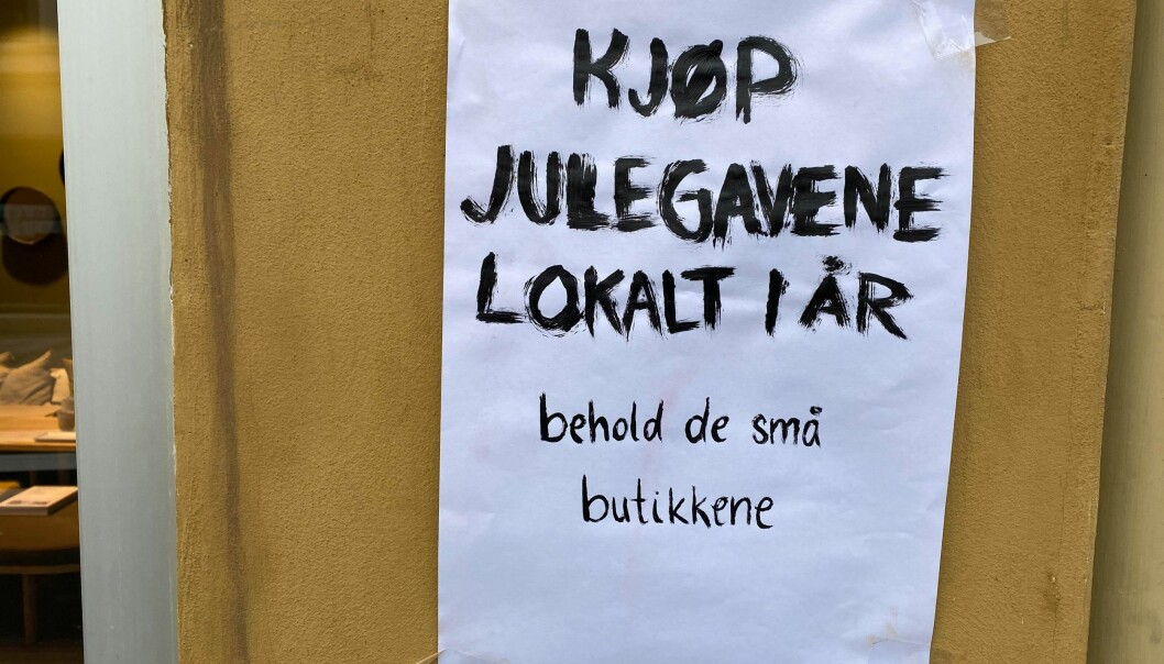Handle lokalt i år, oppfordrer leder av Grünerløkka bydelsutvalg, Geir Storli Jensen (MDG).