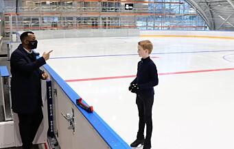 Sonja Henie ishall har endelig åpnet. Oslo vests første ishall er bygget på skøytehistorisk grunn ved Frogner stadion