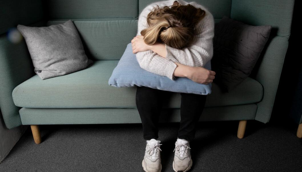 Det var mye større ensomhet blant personer som har mye generell bekymring og som grubler mye.