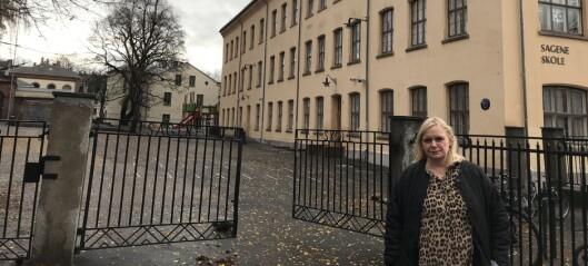 Utdanningsetaten: — Sagene skole har størst areal per elev i bydelen. Vi har ingen planer om å utvide denne skolegården