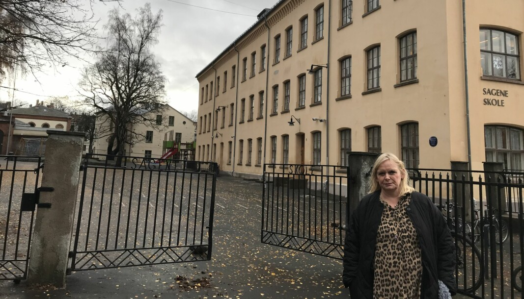 Fagansvarlig arkitekt Nina Sollien Ullestadi Utdanningsetaten fastslår at både små og store barn ved Sagene skole har større plass enn elevene har i noen av de andre skolegårdene i bydel Sagene.