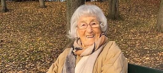 «Skutt blir den som skjuler jøder». Tidsvitne Solveig Levin (105) forteller fra sitt liv