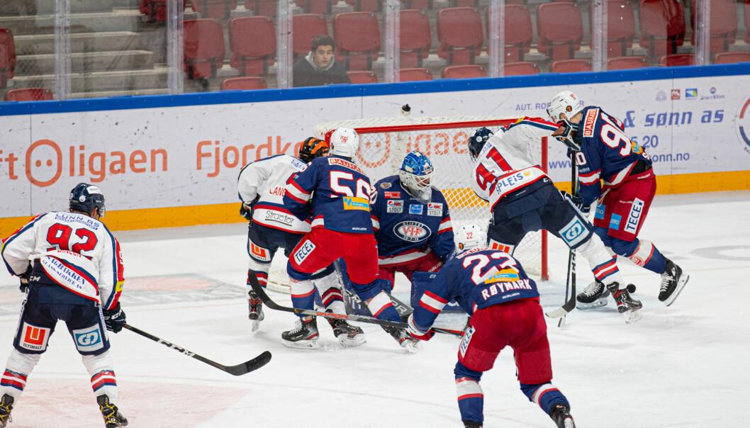 Steffen Søberg og resten av Vålerenga fikk det tøft mot Lillehammer i kveld.