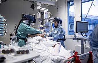 Fem pasienter døde på under en uke: Nytt koronadødsfall ved Oslo universitetssykehus
