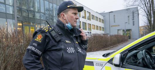 Tenåring funnet alvorlig skadd på buss ved Lindeberg senter