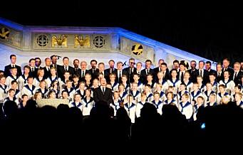 I 54 år har Sølvguttene sunget julen inn i Rådhuset. Lille julaften 2020 er gratiskonserten avlyst