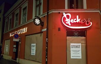 Aksjonsgruppe «stengte» Vinmonopolene i Oslo i natt. Se bildene