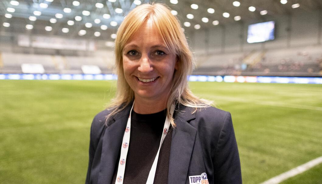 Hege Jørgensen er daglig leder i Toppfotball Kvinner.