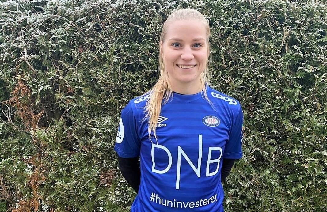 Camilla Huseby (21) blir fra neste sesong å si i backfireren til Vålerengas damelag.