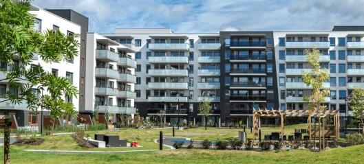Sju måneder med prisvekst på OBOS-boliger i Oslo har flatet ut