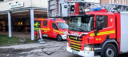 Smitteutbrudd i Oslo brann- og redningsetat