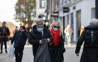 Oslo har passert 11.000 koronasmittede. Over 40 prosent av all smitte oppsto i november