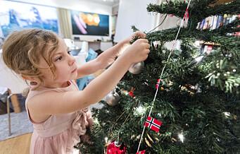 Smitteverntiltak også i julen – men du kan ha inntil ti gjester på julaften