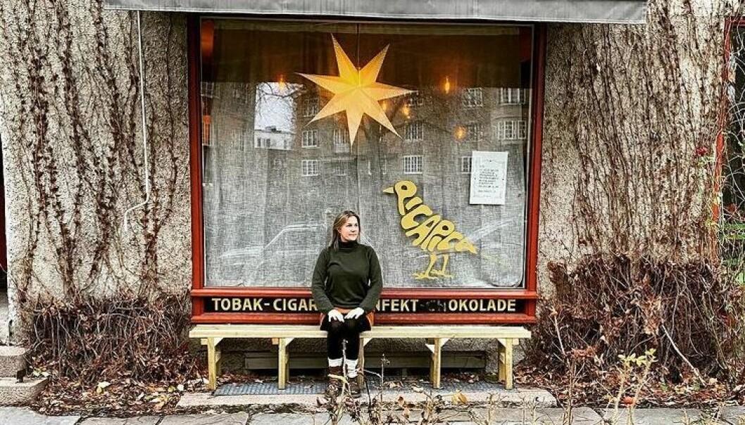 Linda Liebeck venter på klarsignal fra næringsetaten. Caféen er klar til å åpne.