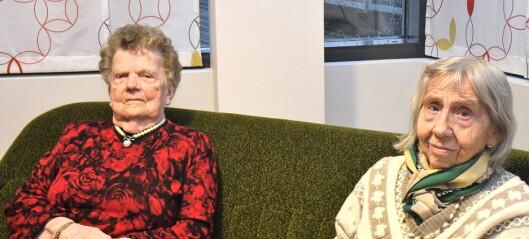 Gudrun (87) og Olaug (96) med bønn til politikerne i bydel Gamle Oslo: — Ikke ta fra oss gratis trygghetsalarm