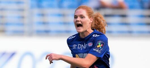Årets Vålerenga-spiller Stine Ballisager Pedersen (26) foran seriefinalen. — I år vinner vi!