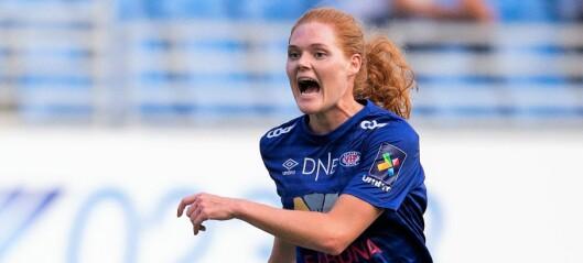 Vålerenga-kaptein Stine Ballisager Pedersen har signert ny toårskontrakt. — Vi skal bli best i Norden