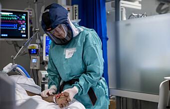 Fra null koronadødsfall i sommer: 11 døde ved Rikshospitalet under smittebølge nummer to