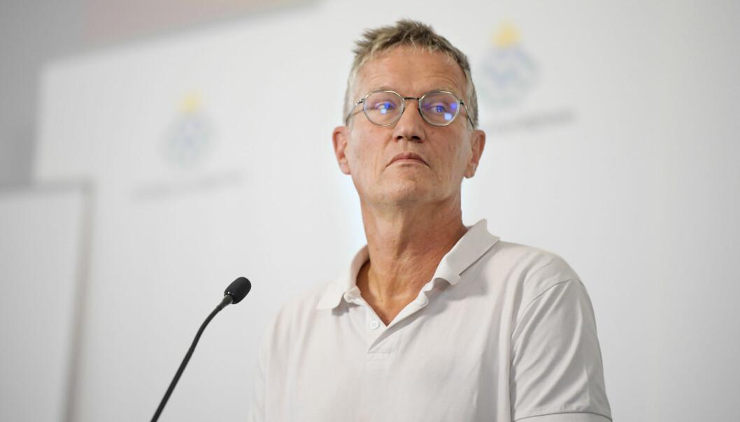 — Små grupper innvandrere har vært drivende, sa statsepidemiolog Anders Tegnell til SVT. Så fikk han kritikk og beklaget uttalelsene.