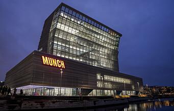 Se flere skilt fra designerne bak ny Munch-logo: - Det beste arbeidet vårt er når noen blir forbannet