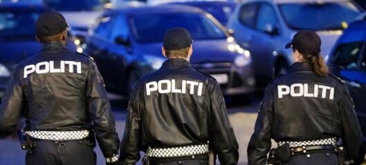 Politiet stanset fest på Skøyen. 16 anmeldt for brudd på smittevernloven