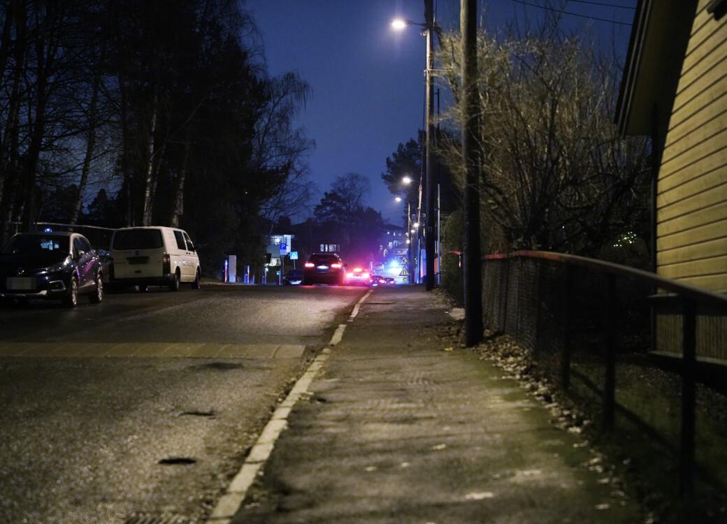 Politiet tror mannen ble utsatt for vold i Lindbäckveien på Nordseter før han ble tatt med i en bil som forsvant ut i Ekebergveien.