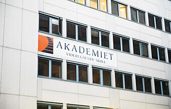 Staten mener Akademiet i Oslo leide bort datamaskiner ulovlig dyrt. Skolen må betale tilbake millioner